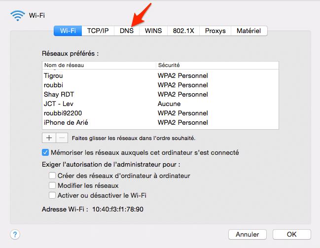 DNS Mac 5